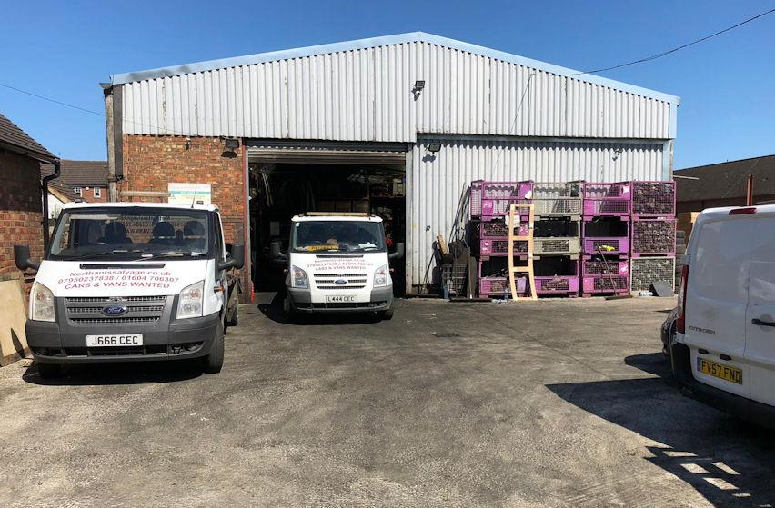 Vehicle dismantlers Northamptonshire